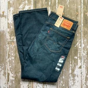 Levi's 514 straight jeans with stretch. 35x32